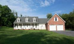 Wonderful custom built Cape Cod, only 4 years old - you really have to see this home to appreciate the care taken in planning and building. Nearly 3000 sf with 4 BR, 3 BA, custom kitchen with granite countertops and sunny breakfast room, spacious living