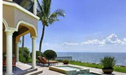 The ultimate in luxury and sophistication directly on Tampa Bay, this exceptionally appointed custom Mediterranean estate offers stunning panoramic bay/gulf views of Tampa and St. Petersburg. Brazilian Oak double doors welcome you to this 5 bedroom (opt 5