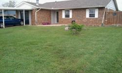 This house was built in 1982. It with 3 bedrooms, 2 full baths, a backroom with wood burning stove, living room, kitchen, laundry area, dinning area, great backyard one covered carport.Rent for the house is 850.00. House comes stove, dishwasher, and