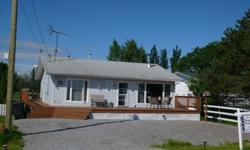 This 2 bedroom bungalow is in absolute immaculate condition inside and out. 2 large bedrooms, master with the ensuite, open floor concept, wood burning free standing fireplace makes this home very cozy. A view of the lake from inside the home or off the