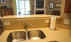-BETTER THAN NEW,THIS HOME HAS THE EXTRA SPACE YOU'RE LOOKING FOR.OPEN FLOOR PLAN,FORMAL DINING WITH BEAMED CEILINGS,KITCHEN FEATURES SS APPLIANCES SOLID WOOD CABINETS & SOLID SURFACE COUNTER TOPS.OVERSIZED MASTER WITH TREY CEILINGS,HIS & HER SINKS TILE