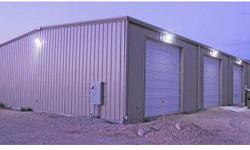 One acre of land with 4,000 square foot Metal SHOP. The shop is move in ready. Right on Scenic Blvd in Scenic AZ. Miles away from Mesquite Nevada where golf courses and Casinos are right at your finger tips.The Shop includes 3 Bay doors and remote door