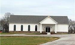 13.11 acres. 3375 sq-ft building. Previously used as a church.