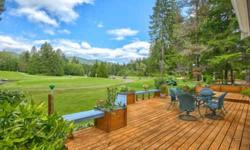 A Perfect Piece of Paradise! Majestic Mt. Eleanor in the Olympic range graces your ?backyard?, the 7th green of the Lake Cushman Golf Course. A great fit for either full-time or seasonal living, this well-maintained home includes an endless array of