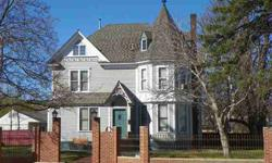 This historic treasure was built in 1893 with 3 floors and an apartment in the basement. 2+ lots, zoned Core Commercial, on the corner of Jackson Blvd and 5th Street. 5 Bedrooms, 4.5 baths, in the main house. Beautiful woodwork throughout. Gas-log