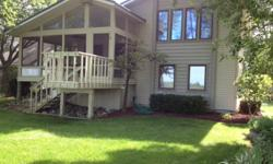 Unique multiple dwelling waterfront property. House on lake, 30x40x12 pole barn, cottage on canal across street with boat well. 2nd house at end of road, quiet, no traffic, very kid and pet friendly area. Lots of fish, ducks, wild-life, sunsets. Low