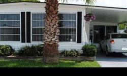 This is a 1974 2 bed 2 bath for $33,000 with 960 SqFt. It has laminated wood flooring in every room. It comes semi-furnished and almost completly remodeled. New plumbing, new water softener, double roof over, and a new bathroom. Access to a pool, pets ok