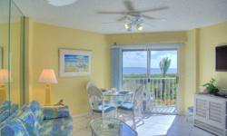 Renovations just completed! New kitchen & baths with custom cabinets, granite counters and stainless appliances. 2 bedroom, 2 bath condo offered fully furnished with beautiful endless ocean views. Amenities include pool, tennis, cafe & lounge, beach,