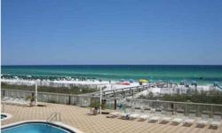 Not a short sale. Sleeps like a 3br. Spectacular views from this Gulf front condo. Summer Place is a low density development (only 53 condos) but with all the amenities of a larger property. Building amenities include 230 ft. of beach, 2 gulf side pools