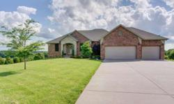 Awesome views! All brick, custom, walk out basement home with 5 beds and 3 full bathrooms. Susan Stowe is showing 368 Evening Ln in Ozark which has 5 bedrooms / 3 bathroom and is available for $365000.00. Call us at (417) 459-3838 to arrange a viewing.