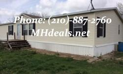 This beautiful 4 bedroom 2 bathroom double Wide manufactured home, standing at 1,568 square feet (28 x 56). The home has a wide open floor plan flowing from the living room to the kitchen. The kitchen comes has a beautiful blue counter top and trim with