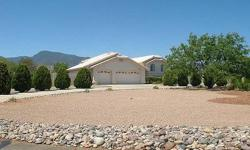 GORGEOUS HOME WITH STUNNING MOUNTAIN VIEWS ON ONE ACRE!! ALMOST 3,000 SQ.FT. LIGHT AND OPEN FLOOR PLAN. LOTS OF WINDOWS! LARGE MASTER, LOFT IS PERFECT FOR AN OFFICE. NEWLY UPDATED KITCHEN W/NEW GRANITE COUNTERTOPS, NEWER KITCHEN TILE,CABINETS, STOVE AND