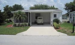Fully Furnished Manufactured Home in a gated community with golf cart. Private 18 hole golf course, private lake, and tons of other amenities to also include a full recreation center and pool. You can buy unfurnished for 28K. Seller will finance with 10K