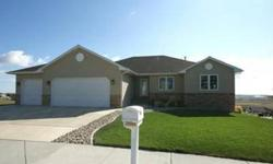 Great views from this beautiful, open floor plan, ranch style home situated on a 0.34 acre lot, with easy access to freeway, hospital, and downtown. Tons of storage throughout! Main floor laundry room with utility sink and cabinets. Living and dining room