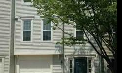 Large open townhouse with newly painted neutral colors, lovingly maintained, updated, large bright kitchen, extra baths (4 total), great deck in back yard, garage & tons of visitors parking. Fantastically located Cameron Knolls with remarkably easy access