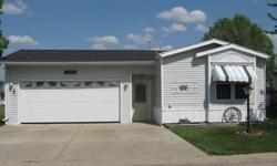 1996 16x80 manufactured home in Knollwood Estates Freeport, Il. 3 bedroom, 2 bath, covered 10x20 deck, 2 stall heated garage, fire pit in back yard, all appliances stay, curtains, vynal flooring through out, 10x13 shed. A very clean home. Asking $39,500.