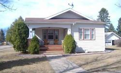 Nice 3 bedroom, 1 bath house on a corner lot in the city of Mahnomen, located in a quiet neighborhood. Original hardwood floors and charming front porch. Listing originally posted at http