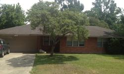 Great house in a great location! Available in a great school district just in time for the new school year.3 bedrooms, 2 bathrooms 1500 sq ft with a 2 car attached garage and large fenced in back yardtile floors in kitchen and bathroomswood floors