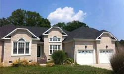 This gorgeous ranch was a previous model. Features a large kitchen w/island w/premium granite counter tops, walk in pantry. Heather Lewis has this 5 bedrooms / 3 bathroom property available at 813 Samantha Ln in Chesapeake, VA for $400000.00. Please call
