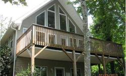 Once you visit this beautiful lakefront home in Lake Lure North Carolina you will be ready to call it home. All main level living with an upstairs loft/master suite and a basement level recreation room with a large bonus room, this home is great for year