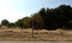 Custom lot located in Kalithea at the Promontory, A gated subdivision of custom homes in El Dorado Hills.