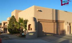 This southwestern-style home is on a corner lot of 1.06 acres. This 2,765 sf home has a very open floor plan and split bedroom arrangement. The second bedroom has it's own full bath. The 3rd and 4th bedrooms share a Jack and Jill bath. There are 3