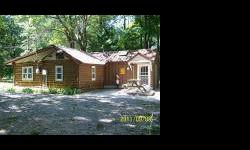 Log Cabin that has been updated extensively in a very professional manner. State land on 3 sides with only one neighbor next doors. All sports Long Lake access within walking or bicycling distance. Nice clean home with modern kitchen with hardwood floors
