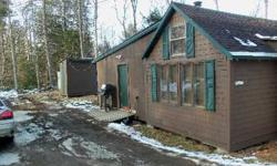 Located in Lincoln, ME this camp offers great land to hunt, ITS trail system next to property, ATV trail system right from camp. This camp is not located on water nor has running water. 3 bdr + 1 enclosed loft, wood stove, gas range, gas fridge,