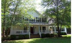 Vacation at home...in this immaculate colonial w/water access. Entertain in HUGE kit w/hdwd floor, stainless appliances & breakfast bar overlooking 2 story Fam Rm w/gas FP. Enjoy ice tea on front porch or eat crabs in screened porch overlooking fenced