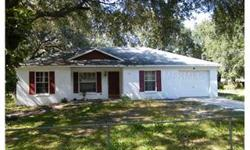 SHORT SALE ...NICE HOME...NEEDS SOME WORK..NICE SPACIOUS LAND...FENCED..GREAT POTENTIAL . Bedrooms: 3 Full Bathrooms: 2 Half Bathrooms: 0 Living Area: 1,500 Lot Size: 0.55 acres Type: Single Family Home County: Polk County Year Built: 1998 Status: Active