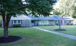 Custom Built Stone Ranch located on a Cul de Sac street with front, side and rear level yard. This wonderful home has 4 extra large bedrooms and 3 full ceramic tile baths. Move-in ready and in excellent condition with many recent updates to include