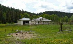 Sporting paradise (hobby farm or horse enthusiast setup)! Custom built 1588 sq. ft home on 61.60 acres, bordering on state land. Great hunting & fishing. 2 bedroom, 2 bathroom, cathedral ceilings. 1200 sq. ft of deck. Detached 2 car garage. Fenced and