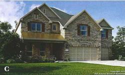 """Castille """"c"""" beautiful 4 bedrooms/3.5 bathrooms, 3 car garage with master down, study that includes hard wood floors, gameroom with catwalk to media room and guest suite. Jenifer Somerlot is showing this 4 bedrooms / 3.5 bathroom property in San Antonio."""