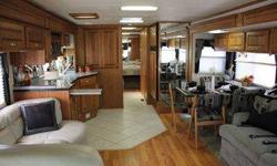 "RV for Sale in Uniontown, KS. Wheelbase 262"" GVWR 34,600 lbs. Front GAWR 14,600 lbs. Rear GAWR 20,000 lbs. GCWR 44,600 lbs. Hitch Rate 10,000 lbs. Tongue Weight 1000 lbs. Fuel Capacity 100 gals. Overall Length 40'7"" Overall Height w/ AC 12'7"" Overall"