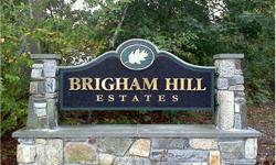 """In Brigham Hill Estates - Being Built - Choose your colors, fixtures and custom details. """"Energy Star"""" homes with 2x6 constrution. Prices in Brigham Hill Estates start at $450,000 depending on size & style. Call now for information on this 40 lot planned"""