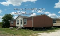A HUGE double wide mobile home, 1536 Square Feet (32 X 48)! With 3 bedrooms and 2 bathrooms. Hard board siding and shingle roofing. All Electric Large Country Island Kitchen. Huge Walk-In Closet. Master Bath With Large Separate