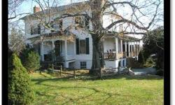 This beautiful 1870's home features a slate roof, heart pine floors and finished english basement among its many distinctive features. Listing originally posted at http