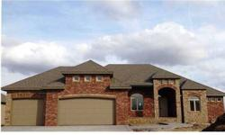 Fabulous new floorplan just completed october 2013! ROBYN RUTHERFORD is showing 2014 South Ironstone St in WICHITA which has 3 bedrooms / 2.5 bathroom and is available for $494900.00. Call us at (316) 304-5353 to arrange a viewing.