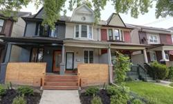Stylish and sophisticated describes this Edwardian Leslieville home with 9ft ceilings and warm hardwood throughout the main level.3 bedrooms and 1 bathroom, unfinished basement with a seperate entrance.No need to stress about renovations, this home is