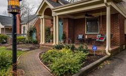 This renovated brick bungalow is located on one of Midwoods most sought after streets! Rare 2 Car Carport, Irrigation System, Screened Porch and Fenced Yard. Hardwood Floors & Fireplace. Private master suite with balcony, walk-in closet, steam shower, jet