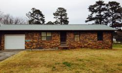 Dunlap, Tn. This home up for sale as a Handy Man Special needs to be gone thru inside and updated. Sold as is. Has one window air unit. Wall heater electric/propane gas with a new Water Heater.One Bath, 3 Bedrooms, Living Room, Kitchen, and attached