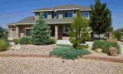 Amazing Home On An Gorgeous Fully Landscaped Acre Lot~5 Bedrooms Plus A Study/Bonus Room~Gourmet Kitchen~Double Sided Staircase~Large West Facing Trex Deck W/ Mtn Views~Fountains~44X24 Insulated Outbuilding/Garage W/14'High Doors For All Your Toys!