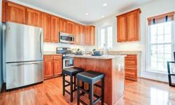 Huge Price Drop! Live one block from Metro. Brick end-unit, looks & feels like brand new. 3 BR + Bonus rm. Loaded w/ upgrades