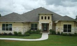 Fabulous buy...new construction with all the bells and whistles...1/2 acre lot...outdoor living area with fireplace and summer kitchen...gives you lots of breathing room. Janet Key is showing this 4 bedrooms / 3.5 bathroom property in Boerne. Call (210)