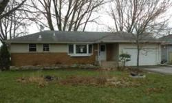 Awesome oppotunity to turn this house back into a home. 3bed 1 bath 2 car attached garage, fenced yard, room to expand in the lower level. Brick front and vinyl siding. Loads of potential. Listing originally posted at http