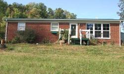 This is a 3 bedroom, 1 bath brick ranch sitting on a 4.5 acre long. If privacy is a goal, then this is a perfect house for you. Call today for more information or your own private viewing. Sellers are looking at all offers. Listing originally posted at