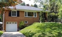 Remodeled home in a great location. Enjoy this PEACEFUL & PRIVATE street while being close to everything! Look outside & see GREEN trees across the street. Entertain in the huge back yard, deck, & patio. Updates include a newer kitchen (with open cutout,