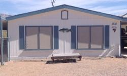 1200+ sq. ft. Sportsman's Cabin near Lake Mead's South Cove Launch in Meadview, Arizona. Less than two hour drive to Las Vegas - we've used it as a weekend FISHING get-away for the past ten tears. 2BR, 2Bath, City water, septic, propane. Guest overflow
