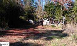 Bank Owned!! House with 1.02 acre lot on Old Buncombe Road near the intersection of Old Buncombe and Hwy 253. Property is currenty zoned residential but would be a good candidate for possible rezoning. Sold as is. Seller has never occupied property. It