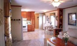 Featuring Skyline Manufactured Homes! Will help you custom design a mobile home that will perfectly fit your needs. You may choose your own floorplan, cabinets, wall paper, flooring, and curtains. Interior and exterior color options are available. Lots